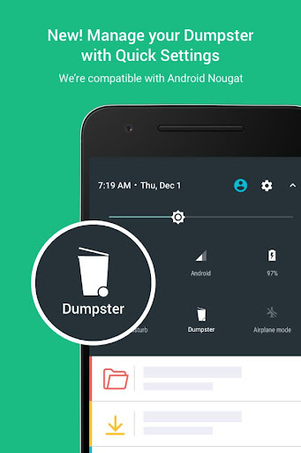 Dumpster: Undelete & Restore Pictures and Videos  screenshots 7
