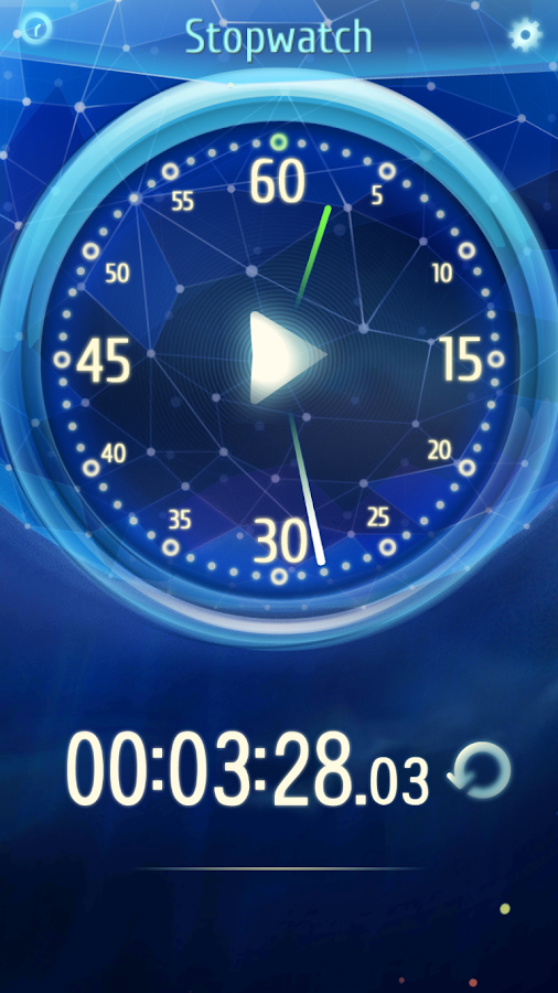 Cool Stopwatch- screenshot