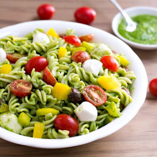 Bell Pepper Pesto Pasta Recipes