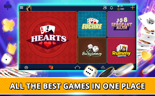 VIP Games: Hearts, Rummy, Yatzy, Dominoes, Crazy 8 apkmr screenshots 9