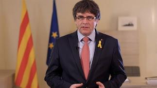 Carles Puidgemont, ex presidente catalán.