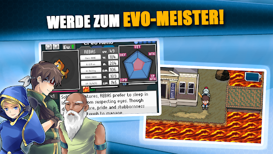 EvoCreo - Open world Pocket Monster Trainer Spiel Screenshot
