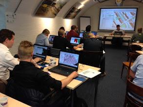Photo: workshop Gissen met Bentley Map