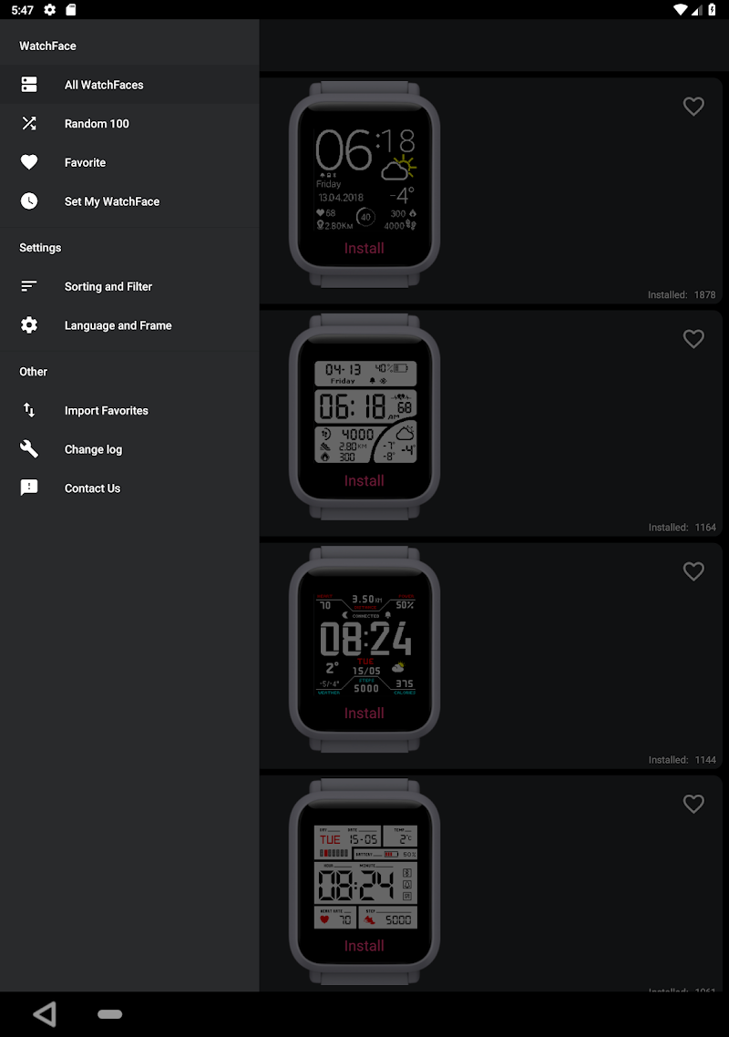 My WatchFace for Amazfit Bip APK Cracked Free Download