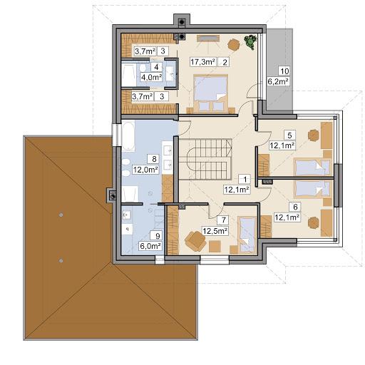 AJR 21 - Rzut piętra
