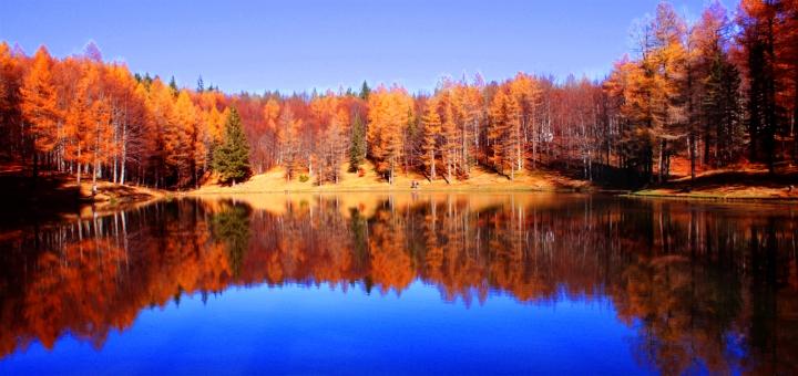 Uno specchio di montagna di dany2084