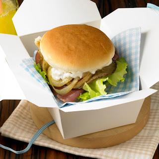 Austernpilz-Burger