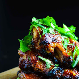 Baked Sticky Tamarind Chicken Wings