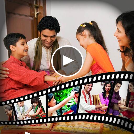 Rakshabandhan Video Maker - Music Slideshow Maker