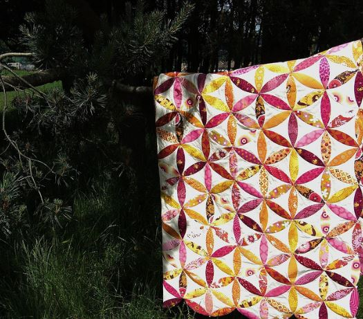 Colorful Quilt with Joseph's Quilt Design