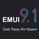 Dark Emui-9.1 Theme for Huawei 1.2