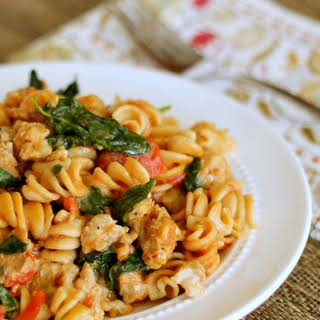 Pasta With Spinach And Sausage Recipes.