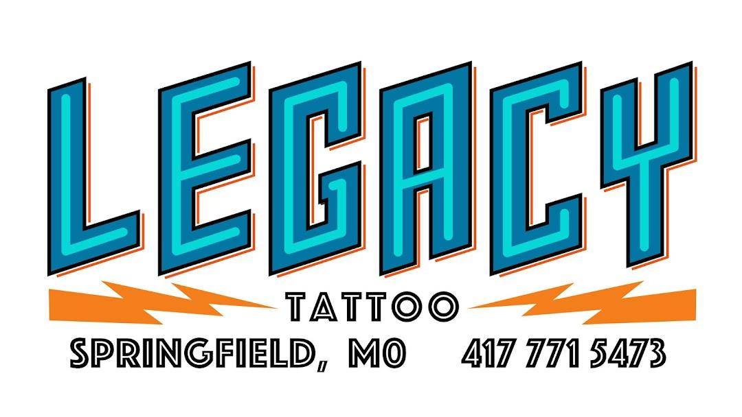 Legacy Tattoo Tattoo Shop In Springfield