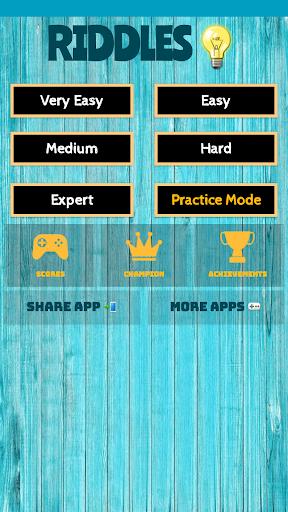 500 Best Riddles Quiz Game 2019 1.1 screenshots 1