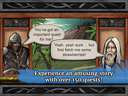 The Paladin's Story: Melee & Text RPG (Offline) apkdebit screenshots 19