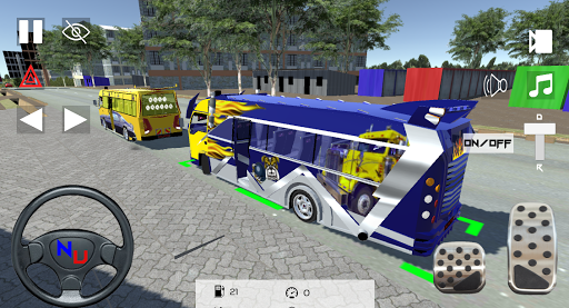 Nganya Unlimited Rongai 1.2(Matatu simulator) apkmr screenshots 2