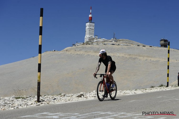 Veertien Belgen maken zich op voor beklimming van de Mont Ventoux