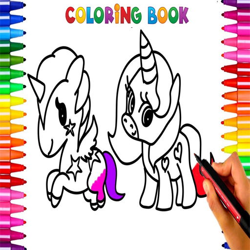 Coloriage Unicorn.App Insights Pink Unicorn Coloriage Rainbow Drawing Apptopia