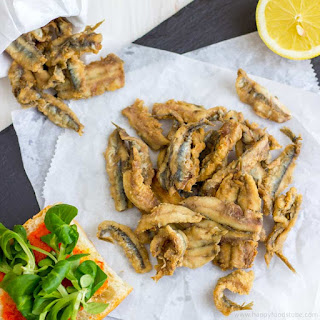 Deep Fried Anchovies.