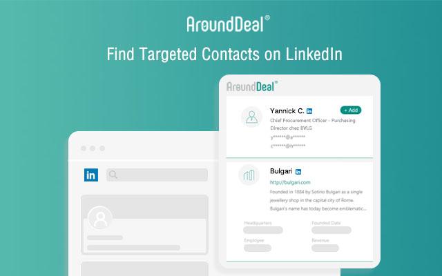 AroundDeal: B2B Contact & Company Info