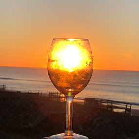 A Glass of Sunshine by Theo Staszko - Artistic Objects Glass