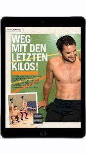 FIT FOR FUN Magazin – Miniaturansicht des Screenshots