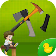 Tools Puzzle Game for Kids