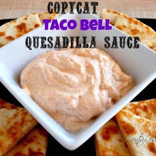 Copycat Taco Bell Quesadilla Sauce.