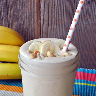 Peanut Butter, Honey and Banana Milkshake -4 Wholesome Ingredients Recipe