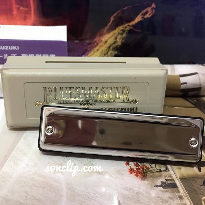 Kèn Harmonica - Suzuki BluesMaster MR-250 (key C)