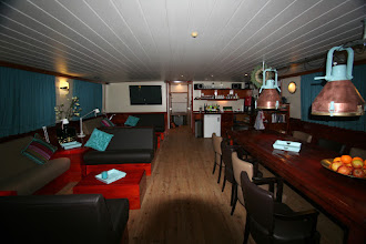 Photo: lounge on Fiep awaiting Beercation passengers!