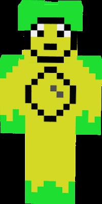 Green = Hair or leaves or vines Yellow = Skin