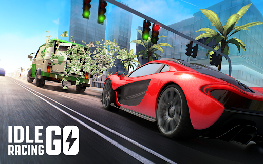 Télécharger Idle Racing GO: Clicker Tycoon & Tap Race Manager APK MOD (Astuce) screenshots 2