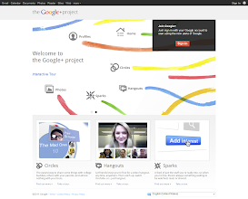 Photo: For comparison: Google+ (September 19. 2011)