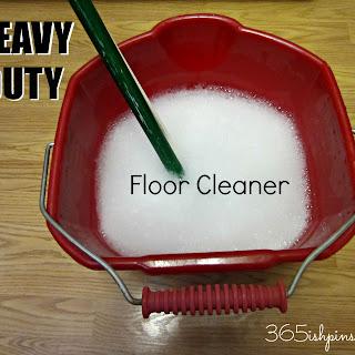 Heavy Duty Floor Cleaner DIY.