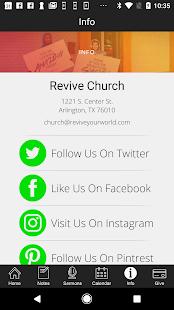 Revive Church | Arlington - náhled