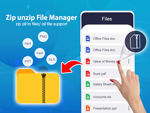 Download Zip File Extractor Rar File Extractor Free For Android