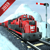 Hill Train simulator 2019 - Train Games