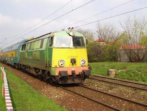 Photo: SU45-141, Grudziądz - Toruń Główny {szlak Toruń Miasto - Toruń Wschodni; 2004-04-20}