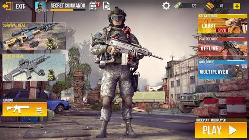 Real Commando Secret Mission - Free Shooting Games filehippodl screenshot 4