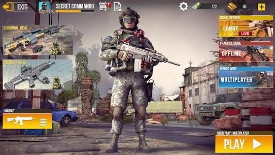 Real Commando Secret Mission – Free Shooting Games 4