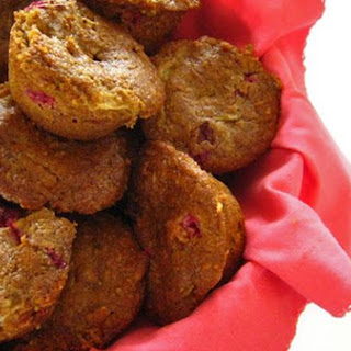 Whole Wheat Cranberry Pear Muffins