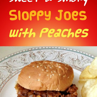 Sweet and Smoky Sloppy Joes Recipe with Peaches
