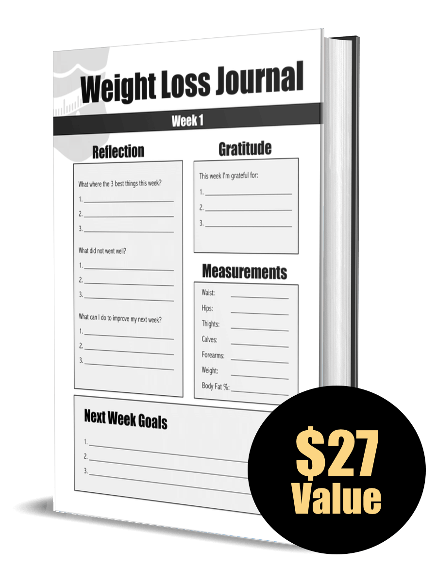 Weight Loss Journal Cover