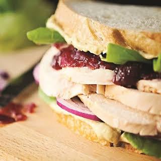Upgraded Turkey Cranberry Sandwiches.