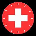 Suisse Clock - Swiss Plates icon