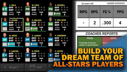 New Basketball Coach 3 : Manage your players 1.2.8 {cheat|hack|gameplay|apk mod|resources generator} 5