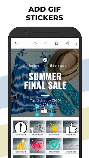 Posters: Insta Story Maker, Animated Story editor 1.4.6 Apk for Android 5