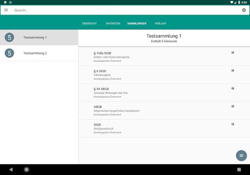 Lawdroid AT – Österreichische Gesetze und EU-Recht screenshot 10