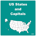 US States and Capitals icon